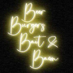 BEER BURGERS BAIT & BACON